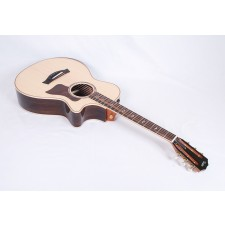 Taylor Guitars 812ce 12-Fret DLX X-Braced with Armrest, and ES2 Electronics #27087