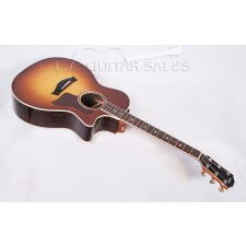 Taylor Guitars 814ce Tobacco Sunburst Rosewood Spruce Grand Auditorium with Advanced Bracing and ES2 Electronics #26065