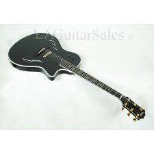 Taylor Guitars T5C1 Custom Trans Black with Figured Maple Top
