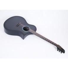 Composite Acoustics GX ELE Gloss Carbon Burst Narrow Neck With Fishman Prefix Plus T Electronics