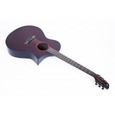 Composite Acoustics GX Wine Red Burst (WRB) With Fishman Prefix Plus T Electronics