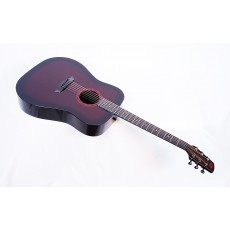 Composite Acoustics Legacy WRB Gloss Wine Red Burst With Fishman Prefix Plus T Electronics - Contact us for ETA