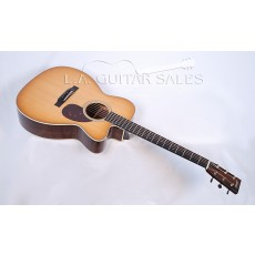 Collings OM2H Cutaway Orchestra Model With K&K Mini Electronics