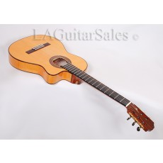 Cordoba 55FCE Acoustic Electric Thinline Crossover Nylon String With Fishman Electronics & Humi-Case