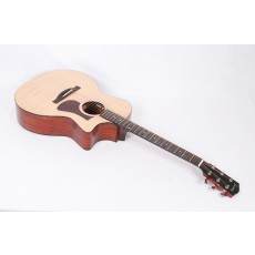 Eastman AC122-1CE Solid Sitka / Sapele Grand Auditorium with Fishman Sonitone Electronics and Gig Bag #56357