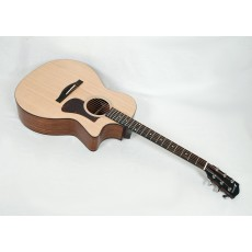Eastman AC222CE-OV Solid Ovangkol / Spruce Grand Auditorium with Fishman Electronics and Gig Bag #00754