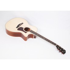 Eastman AC322CE Solid Sapele / Mahogany Grand Auditorium with Fishman Matrix Electronics and Case #06685