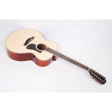 Eastman AC330E-12 12-string Mahogany Spruce Jumbo With Fishman Electroics - Contact us for ETA