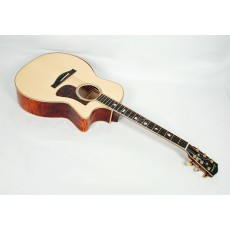 Eastman AC622CE European Spruce / Flamed Maple Grand Auditorium with LR Baggs Element #11427