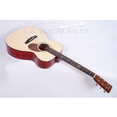 Eastman Custom E10OM Custom Shop Mahogany Adirondack Orchestra Model with K&K Mini  #37014