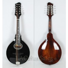 Eastman MD404BK A-Style Mandolin with Oval Soundhole - Contact us for ETA