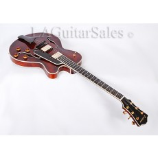 "Eastman T145 SMD-LA 15"" Thinline Hollow Body Jazz Guitar with Case"