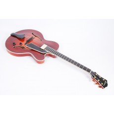 Eastman T146SM All Solid Hand Carved Thinline With Case - Contact us for ETA