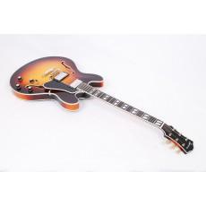 Eastman T486-SB Deluxe Thinline Hollowbody Sunburst Finsh #50061