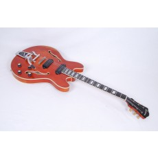 Eastman T64/V-AMB Antique Amber Varnish With Bigsby #50557