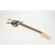 Fender American Professional Jaguar Rosewood Fingerboard Olympic White With Case 2017 Model