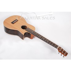 Go Guitars Parlor Full Custom Ziricote Spruce with Florentine Cutaway