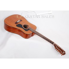 Guild GAD D-125-12 Mahogany 12 String Dreadnought Natural S/N GAD-73532