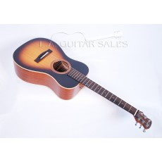 Journey Instruments OF410B Overhead Sitka/Mahogany Sunburst Travel Guitar Contact us for ETA