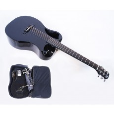 Journey Instruments OF660 Carbon Fiber Travel Guitar With Electronics and TSA Compliant Case