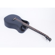 Journey Instruments OF660M Matte Carbon Fiber Travel Guitar With Electronics and TSA Compliant Case