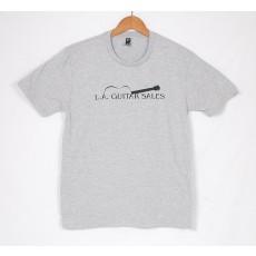 Official LA Guitar Sales Logo Tee Shirt Grey