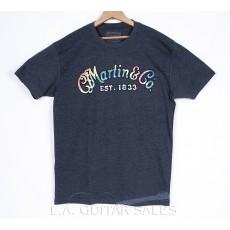 Martin 18CM0099 Tie Dye Logo Tee Shirt