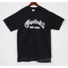 Martin Basic Logo Tee Shirt Black 18CU0095