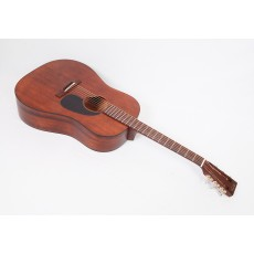 Martin Custom Size D 15S Style All Mahogany 12-Fret Dreadnought With Tortoise Binding #79477