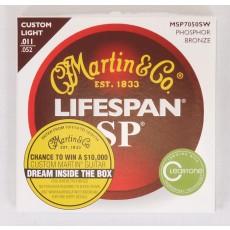 Martin SP Lifespan Phosphor Bronze Custom Light / MSP7050SW