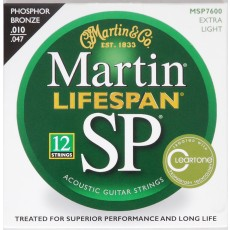 Martin Martin SP Lifespan 92/8 Phosphor Bronze Extra Light 12 String / MSP7600