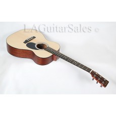 Martin OM-1GT Sapele / Spruce Gloss Top Orchestra Model With Case - s/n 1681785