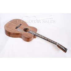 Martin SS-OMVINE-16 Custom Shop Solid Walnut Orchestra Model #20 of 35