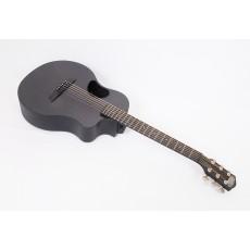 McPherson Touring Carbon Fiber Travel Guitar With Black Binding Satin Tuners & Electronics #10524
