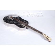 National Style O Deluxe Single Cone Brass Body Resonator With Case