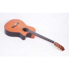 Ramirez 2CWE Rosewood Cedar Acoustic Electric Crossover Guitar with Case