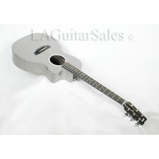RainSong P14P 14-Fret Parlor in Gloss Pewter with Fishman Prefix Plust T Electronics