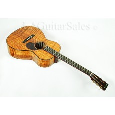 Santa Cruz H13 - AAA Koa Body / Cocobolo Binding / Waverly Tuners s/n 1449