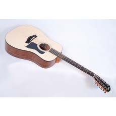 Taylor Guitars 150e Walnut Acoustic Electric 12-String Dreadnought with Case #87266