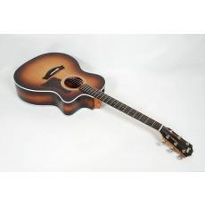 Taylor 214ce-K-SB Koa Sunburst Grand Auditorium Acoustic-Electric #51529