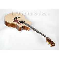 Taylor Guitars 416ce-SLTD 2014 Spring Limited Full Gloss Ovangkol / Spruce Grand Symphony (GS) with ES2 Electronics - s/n 1101244123