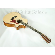 Taylor Guitars 454ce Acoustic/Electric Ovangkol Spruce 12-String Grand Auditorium w/ES1 (GA) #1109133117