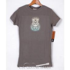 Taylor Guitars Ladies Two-Tone Guitar T-Shirt 4560