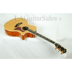 Taylor Guitars 614ce Flamed Maple Spruce Grand Auditorium (GA) with Latest ES Electronics