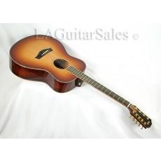 Taylor Custom 9-String / Grand Symphony / Mahogany / Koa / Cedar / Edge Burst Finish