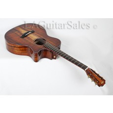 Taylor Custom 12-Fret Grand Auditorium / AAA Koa / Cocobolo Binding / Adirondack Bracing / ES2 Electronics