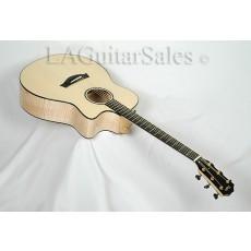 Taylor Custom Grand Orchestra (GO) AA Flamed Maple / AA Adirondack / Ebony Armrest / ES Electronics