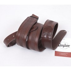 Taylor Slim Leather Strap, Chocolate Brown, Model TL150-05