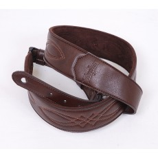 "Taylor Vegan Leather Strap, Chocolate Brown, 2"", Model TV200-05"