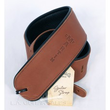 Martin Brown Rolled Leather Guitar Strap Model 18A0028